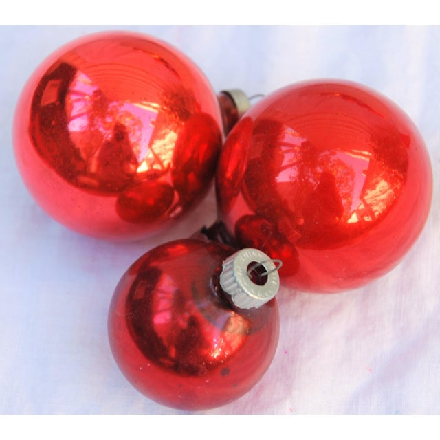 Vintage Christmas Ornaments - Set of 43 - Image 8 of 11