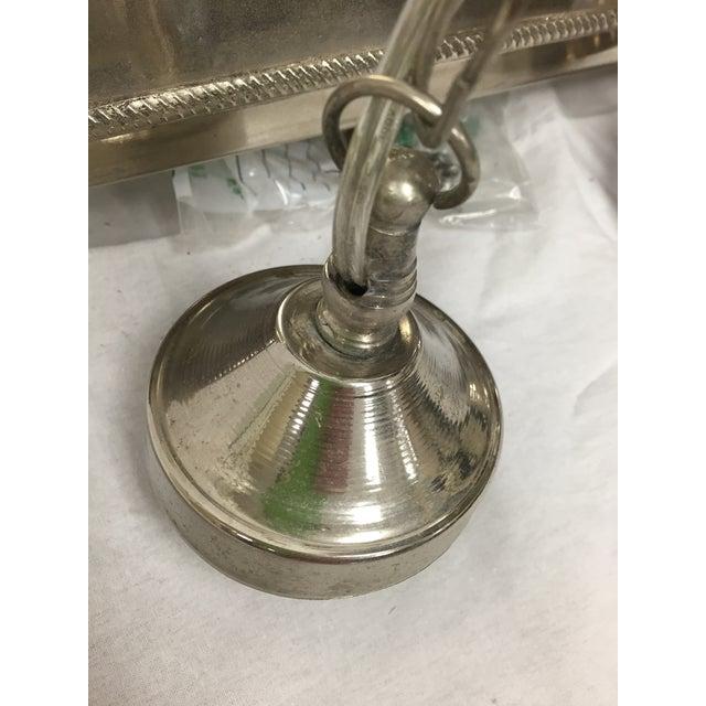 Moroccan Multi-Pendant Pierced Metal Chandelier - Image 5 of 8