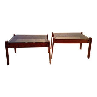 Percival Lafer Side Tables - A Pair