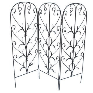 Early 20th-C. Wrought Iron Screen