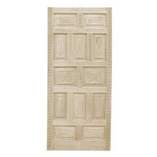 Carved Spanish Colonial Door