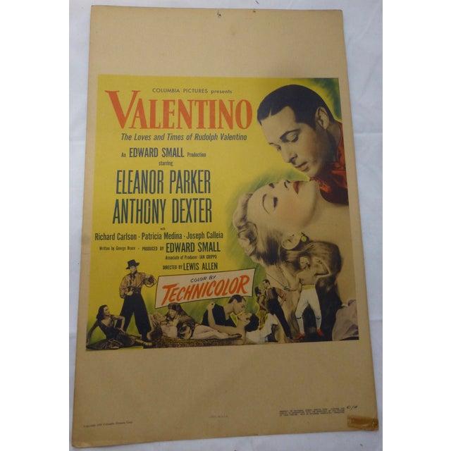 1950s Valentino Movie Lobby Card - Image 2 of 11