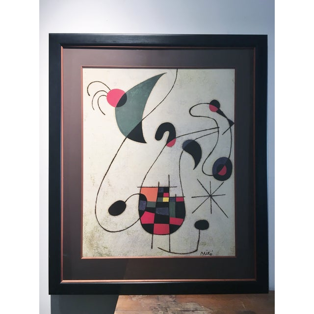 Large Miro Framed Print - Image 2 of 6