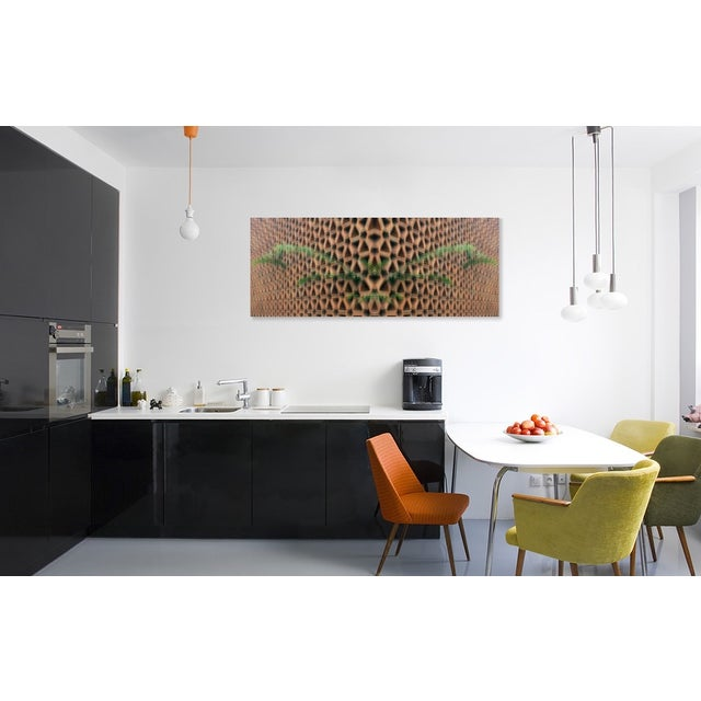 Fern vs Geostructure Photo Collage Print - Image 4 of 4