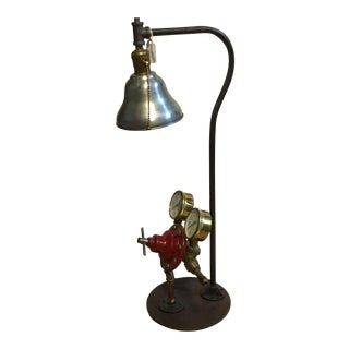 Acetylene Gas Gauge Art Lamp