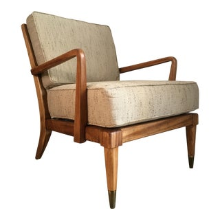 Mid-Century Modern Danish Style Lounge Arm Chair