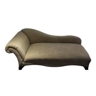 Elegant Velvet Chaise Lounge