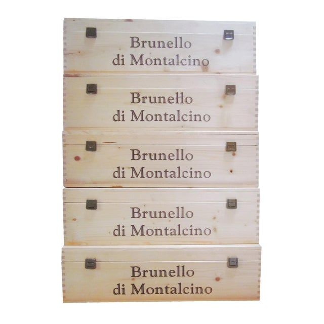 Vintage Italian Storage Boxes - Set of 5 - Image 1 of 11