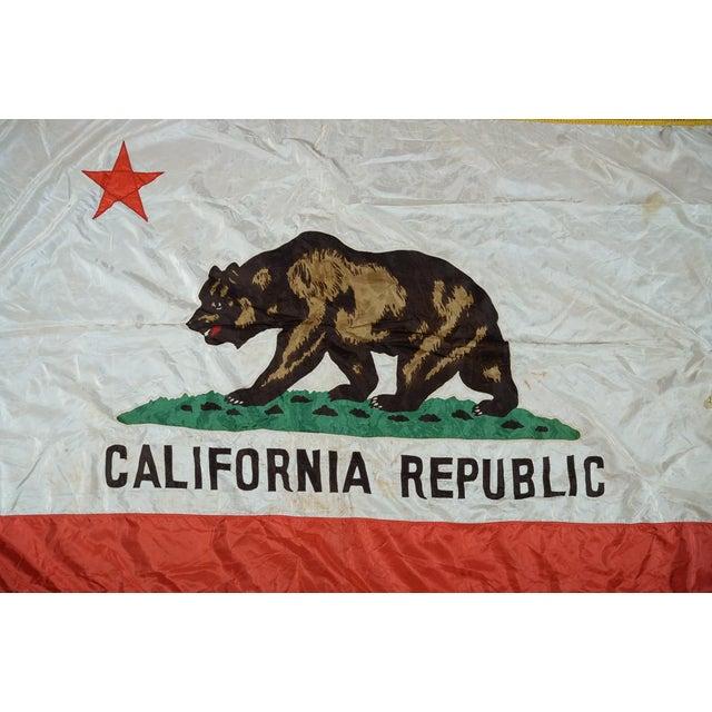 California Republic Original 1930s Vintage Flag Chairish