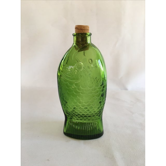 Green Dr. Fisch's Bitters Bottle, Reproduction - Image 2 of 6