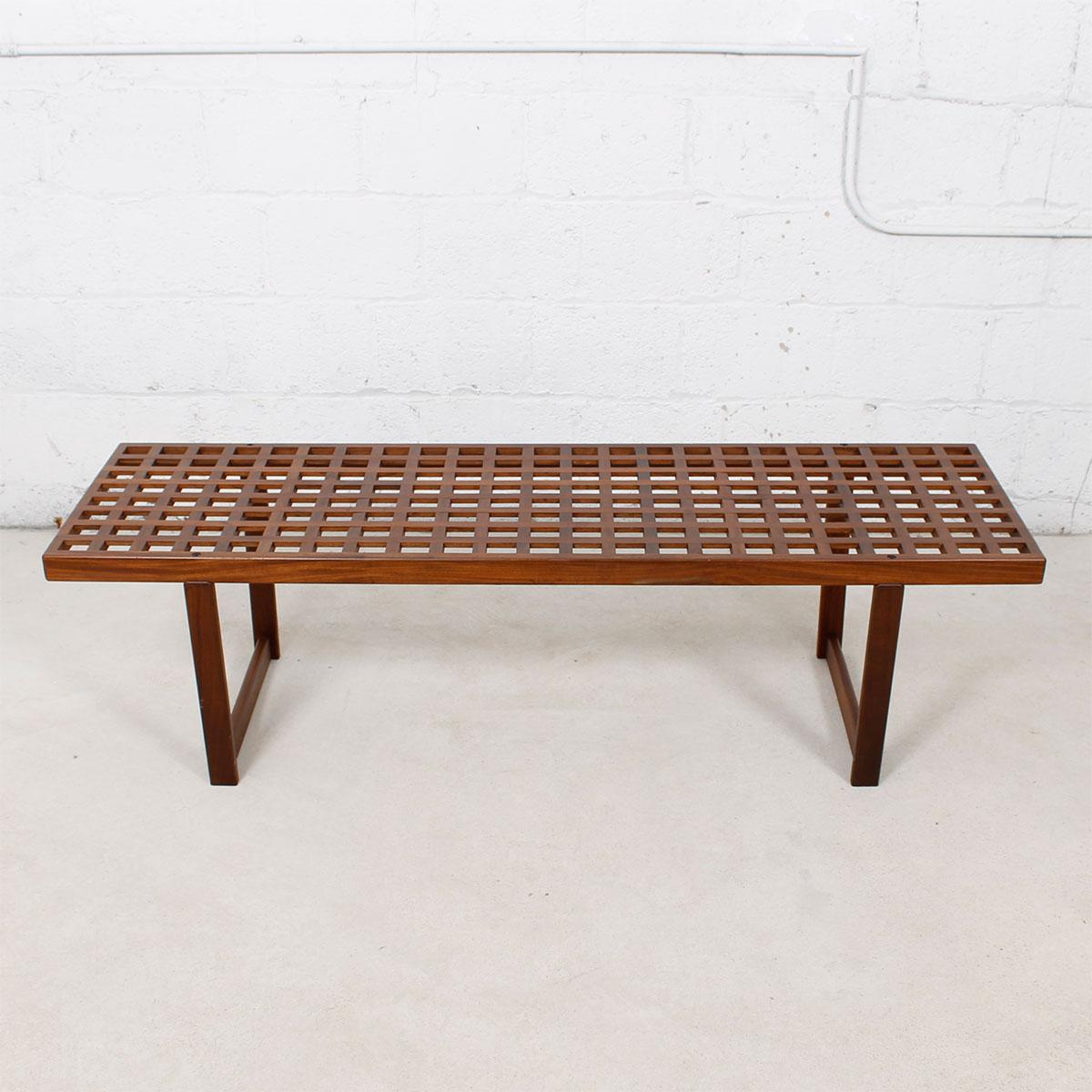 Lattice Coffee Table/Bench By Lovig   Image 5 Of 10