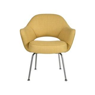 Vintage Saarinen Executive Armchair - Yellow