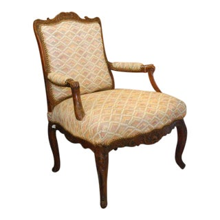 18th Century French Walnut Chair