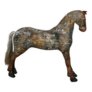 Swedish Horse with Original Painted Surface (#43-37)