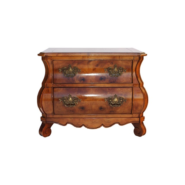 Image of Bombe Commodes by Henredon - A Pair