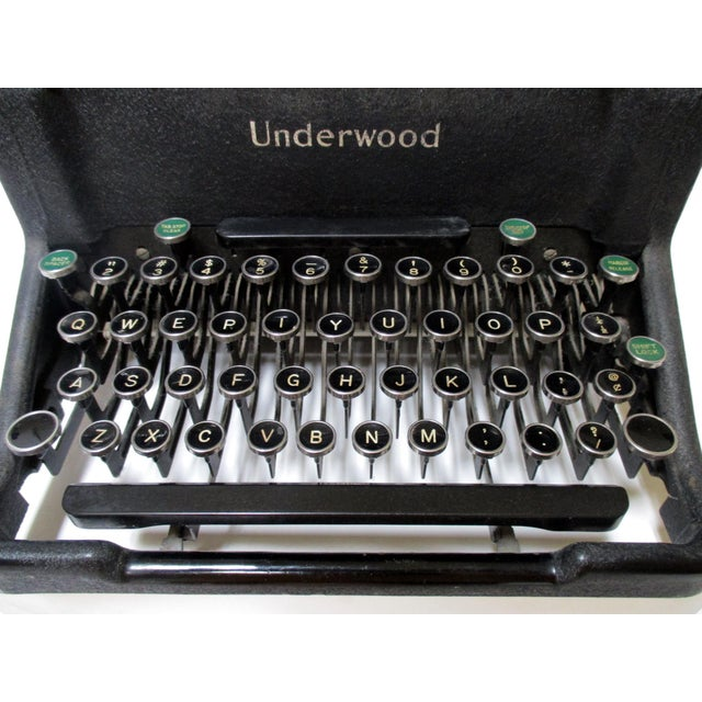 1920s Vintage Underwood Typewriter - Image 8 of 11