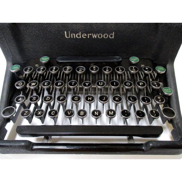 Image of 1920s Vintage Underwood Typewriter