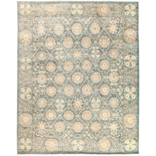 "Suzani Hand Knotted Area Rug - 8'1"" X 10'1"""