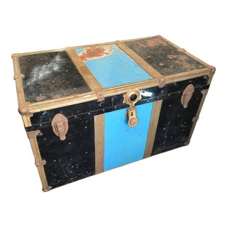 Vintage Distressed Trunk