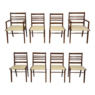 Rway White Dining Chairs - Set of 8