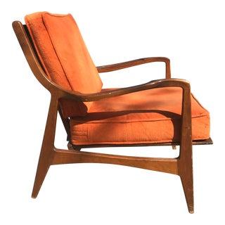 Mid-Century Slat Chair