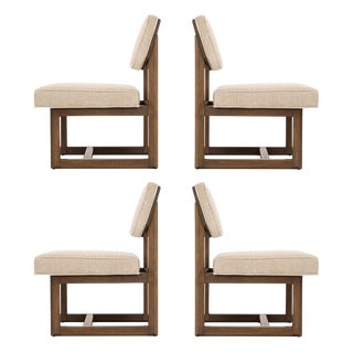 Set of Four Frank Lloyd Wright Dining Chairs