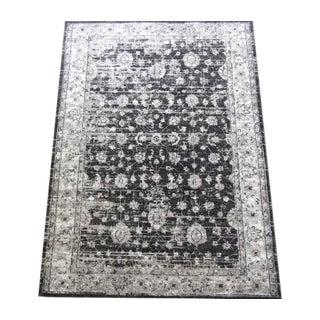 "Gray Distressed Area Rug - 5'3"" x 7'7"""