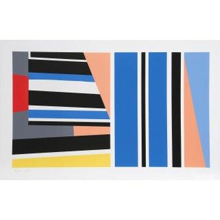 """Pierre Clerk, """"Morroco Series #8,"""" Serigraph"""