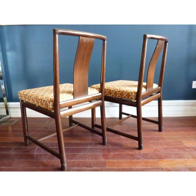 Asian Inspired Dining Chairs - A Pair - Image 7 of 11
