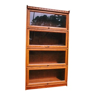 Wood & Glass Barristers' Bookcase