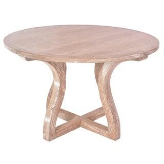Savannah Oak Cerused Dining Table