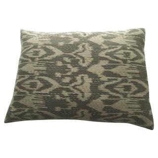 Indian Textile Ikat Pillow