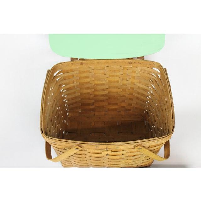 Vintage Longeberger Picnic Basket - Image 6 of 10
