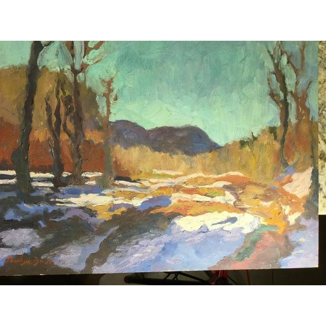 Image of Jocelyn Davis Plein Air Painting
