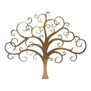 Gold Tree Wall Art