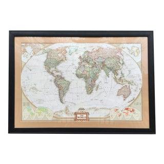 Large National Geographic World Map