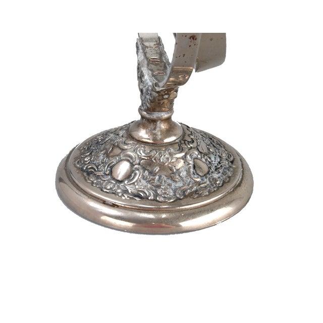 Silver-Plate Vanity Mirror - Image 7 of 9