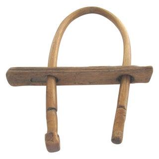 Rustic Hand-Hewn Amish-Style Yoke
