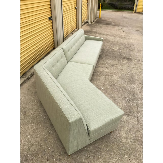 Marden Mid-Century Sectional Sofa - 2 Pieces - Image 5 of 11