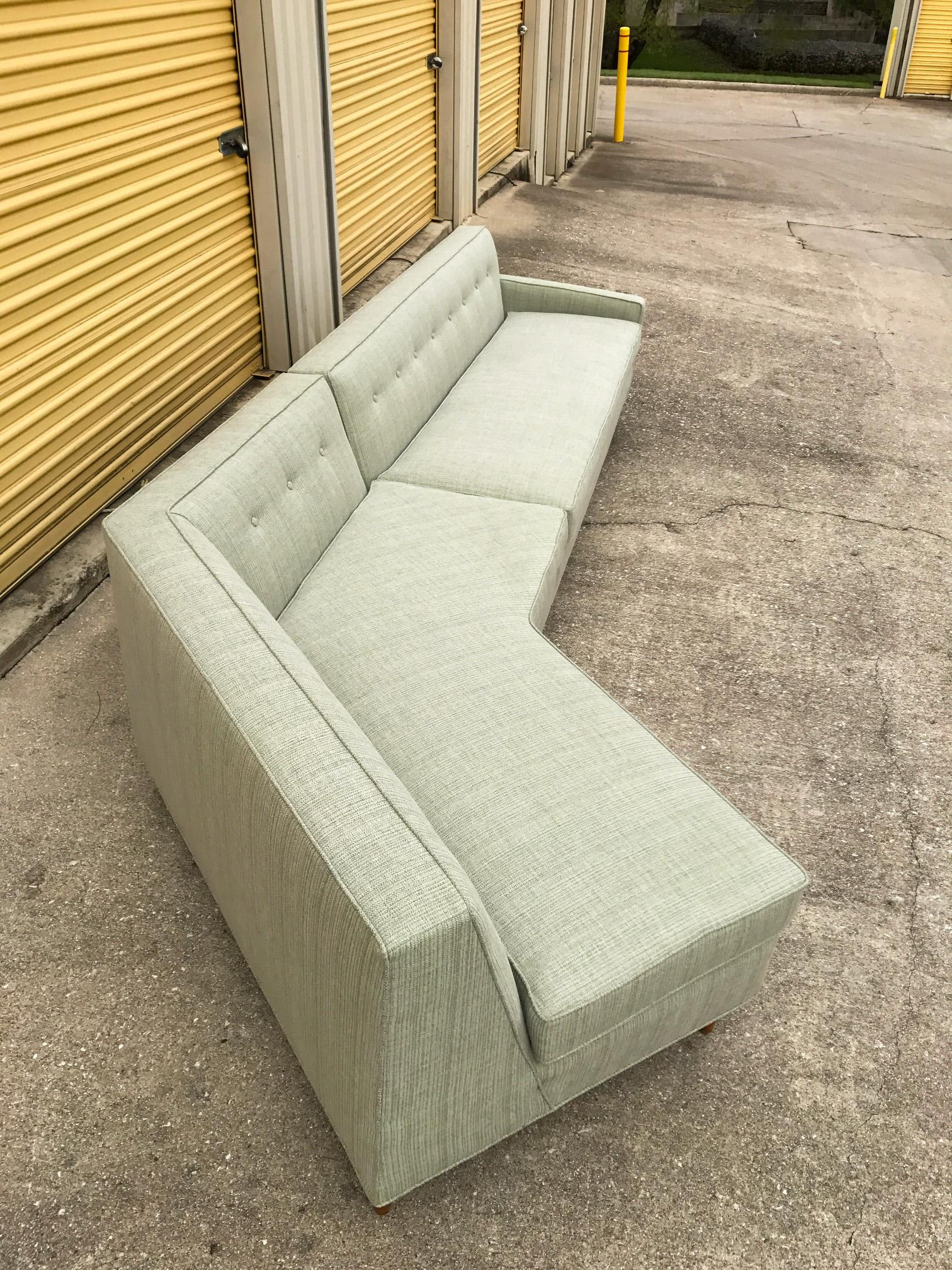 Marden Mid Century Sectional Sofa   2 Pieces   Image 5 Of 11