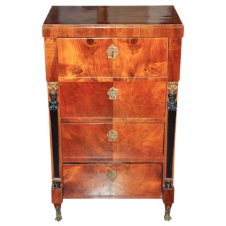 German Biedermeier Tall Chest