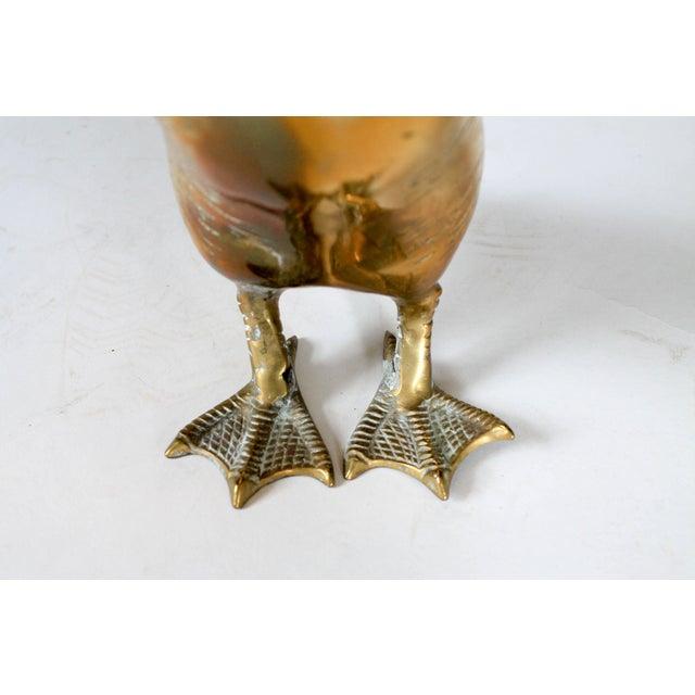 Brass Duck Figurine - Image 5 of 5