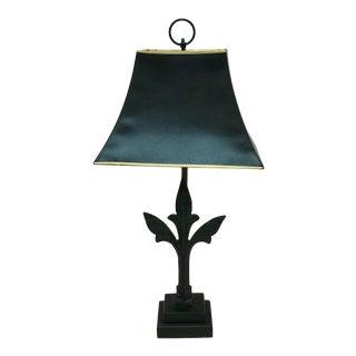 Vintage Black Iron Lamp