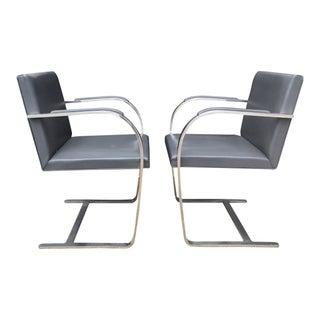 Vintage Mies Van Der Rohe Brno Chairs - A Pair