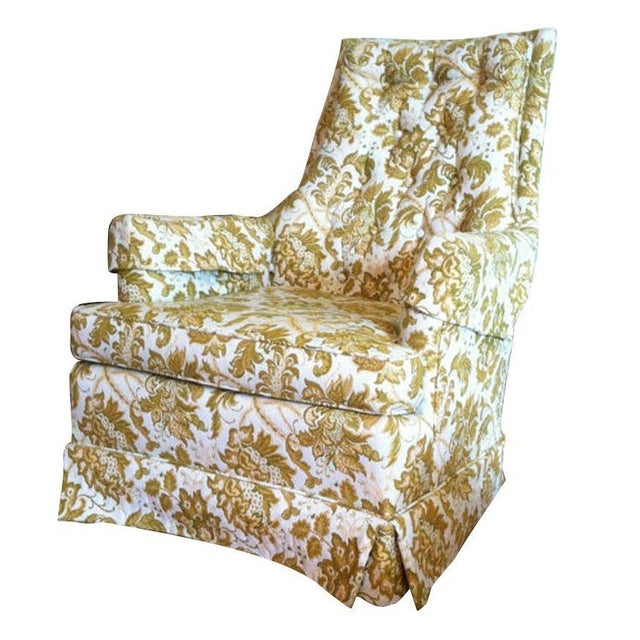 Floral Vintage Armchair - Image 1 of 6