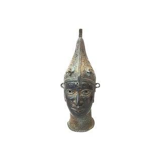 African LG Benin Portrait Queen Bronze