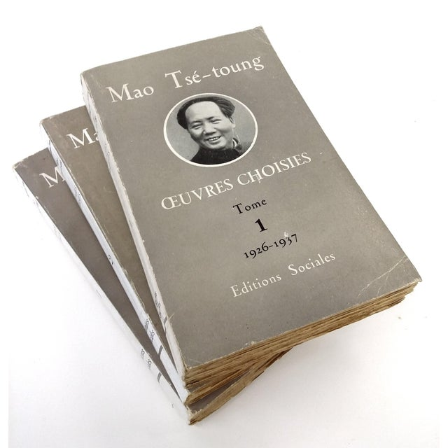 Mao Tse Tungh Collectible - 3 Volume Set - Image 2 of 10