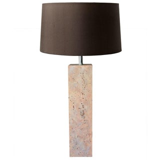 Modernist Stone Composite Lamp