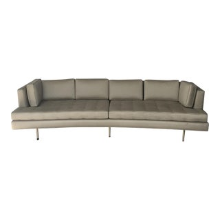 Edward Wormley for Dunbar Tufted Beige Sofa