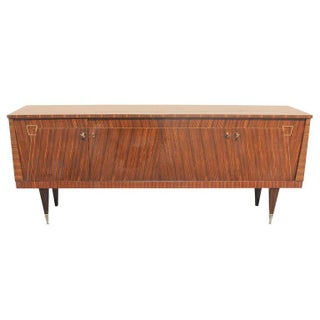 French Art Deco Exotic Macassar Ebony Buffet